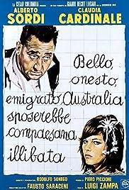 Bello onesto emigrato Australia sposerebbe compaesana illibata Poster