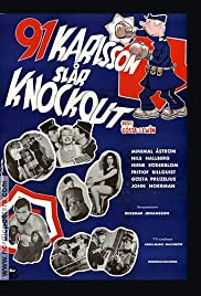 91 Karlsson slår knockout Poster