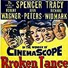 Spencer Tracy, Robert Wagner, Richard Widmark, Katy Jurado, and Jean Peters in Broken Lance (1954)