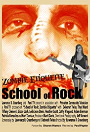School of Rock: Zombie Etiquette Poster