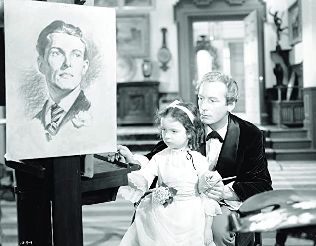 Lowell Gilmore and Carol Diane Keppler in The Picture of Dorian Gray (1945)