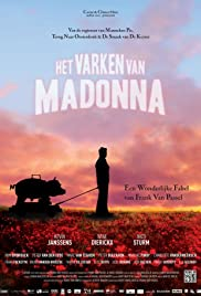 Het varken van Madonna Poster