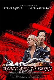 Black Girl in Paris Poster
