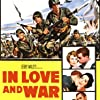 Jeffrey Hunter, Robert Wagner, Bradford Dillman, Hope Lange, Sheree North, France Nuyen, and Dana Wynter in In Love and War (1958)