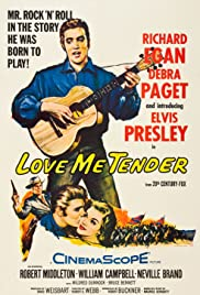 Love Me Tender (1956) Poster - Movie Forum, Cast, Reviews
