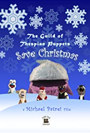The Guild of Thespian Puppets Save Christmas Poster