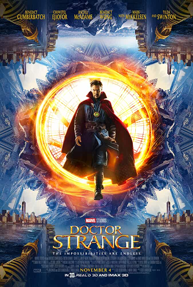Poster Doctor Strange (2016) Full HD Movie Download in Hindi Dubbed 720p