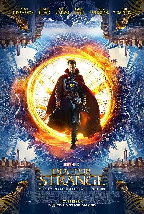 Benedict Cumberbatch in Doctor Strange (2016)