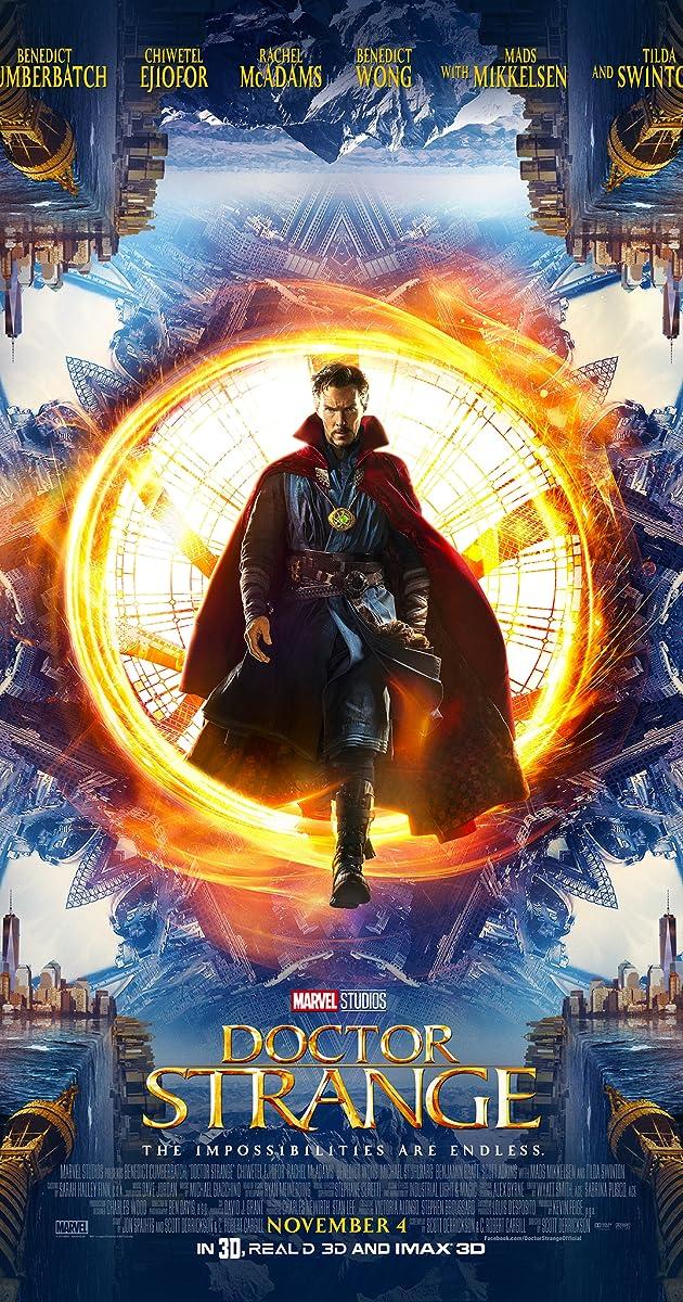 Daktaras Streindžas / Doctor Strange (2016) Online
