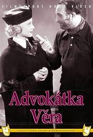 Advokátka Vera Poster