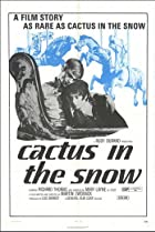 Image of Cactus in the Snow
