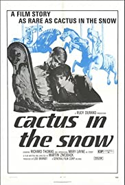 Cactus in the Snow Poster