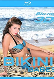 3D Bikini Beach Babes Issue #5 Poster