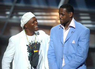 Samuel L. Jackson and LeBron James at ESPY Awards (2004)