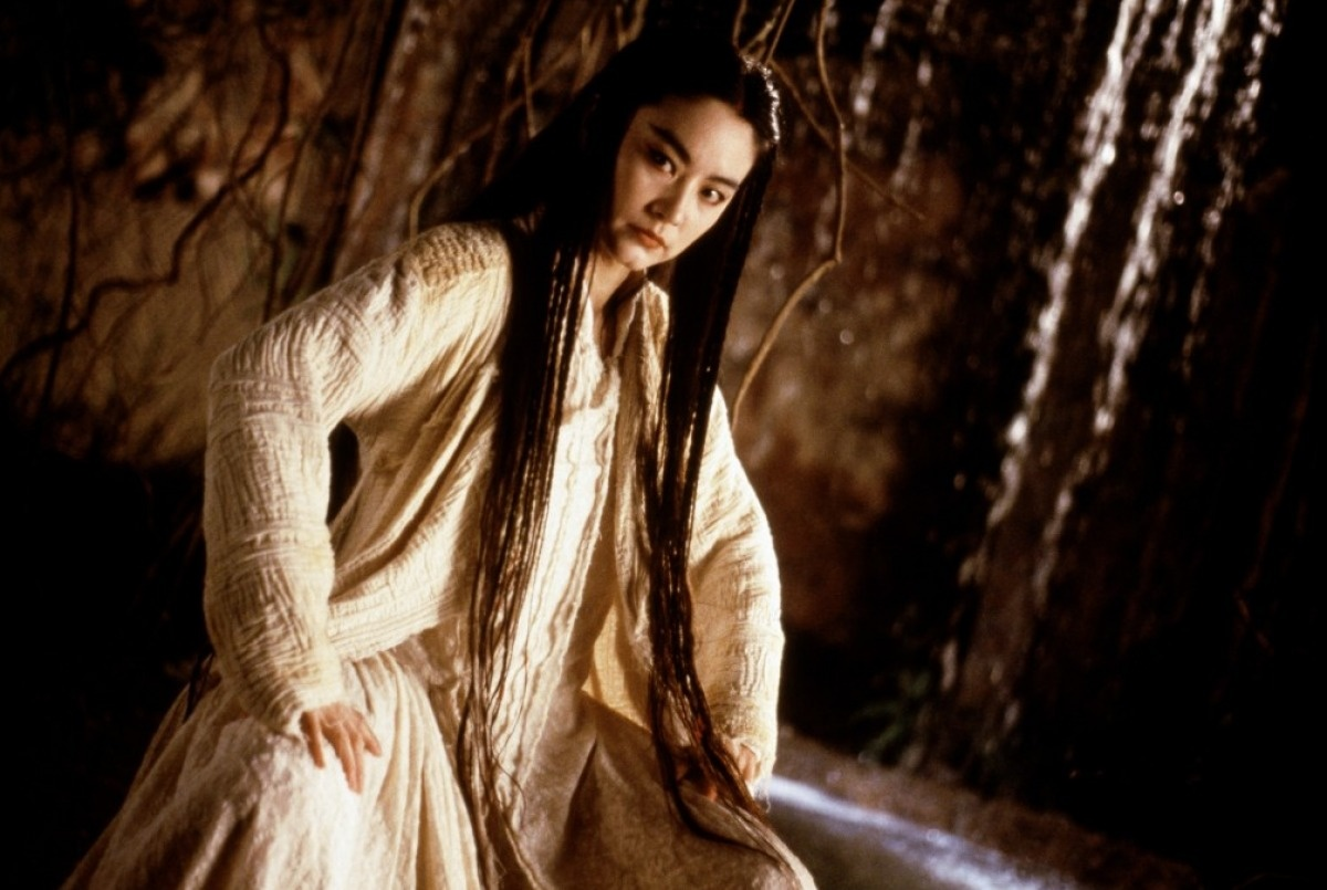 Image result for brigitte lin bride with white hair