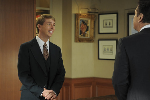 Alec Baldwin and Jack McBrayer in 30 Rock (2006)