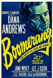 Boomerang!(1947) Poster - Movie Forum, Cast, Reviews