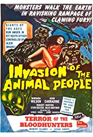 Invasion of the Animal People (1959) Poster - Movie Forum, Cast, Reviews