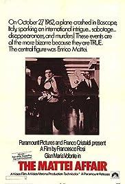 The Mattei Affair(1972) Poster - Movie Forum, Cast, Reviews