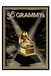 The 58th Annual Grammy Awards Poster