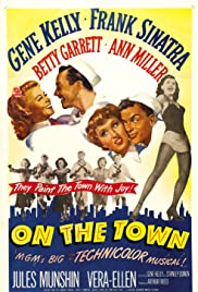 On the Town (1949) Poster - Movie Forum, Cast, Reviews