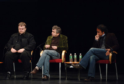 Alfonso Cuarón, Alejandro G. Iñárritu, and Guillermo del Toro