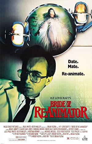 Poster Bride of Re-Animator