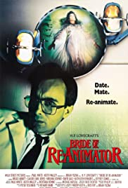Bride of Re-Animator (1989) Poster - Movie Forum, Cast, Reviews