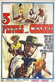 3 pistole contro Cesare Poster