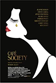 Café Society (2016) Poster - Movie Forum, Cast, Reviews