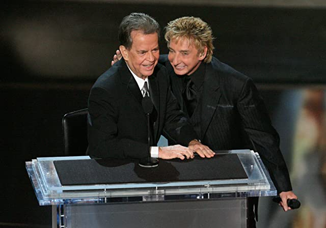 Barry Manilow and Dick Clark