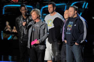 Adam Sandler, Chris Rock, Rob Schneider, David Spade and Kevin James