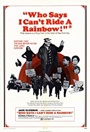 Who Says I Can't Ride a Rainbow! Poster