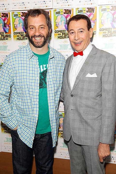 Paul Reubens and Judd Apatow