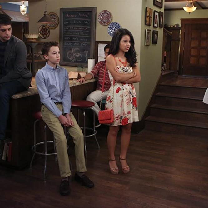 Jake T. Austin, Cierra Ramirez, Maia Mitchell, David Lambert, and Hayden Byerly in The Fosters (2013)