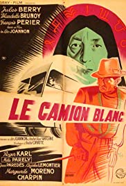 Le camion blanc Poster