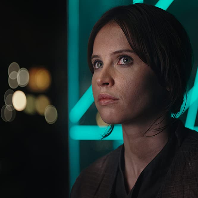 Felicity Jones in Rogue One (2016)