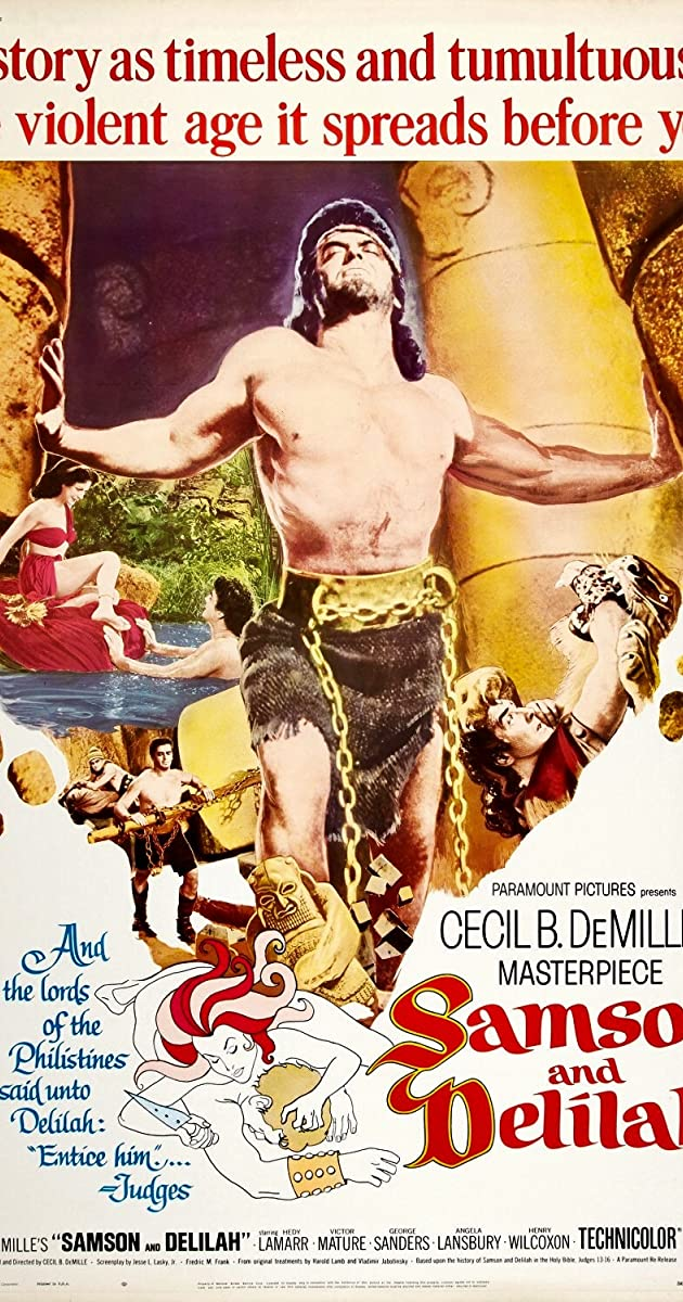 samson and delilah 1949 imdb