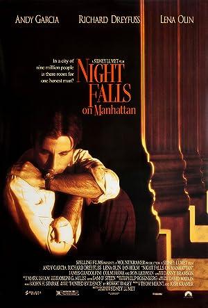 Night Falls on Manhattan poster