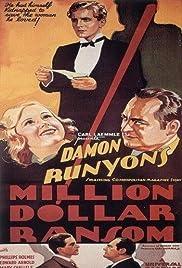 Million Dollar Ransom Poster