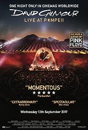 David Gilmour Live at Pompeii Poster