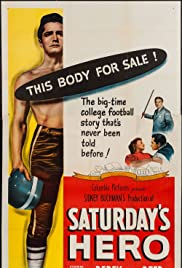 Saturday's Hero (1951) Poster - Movie Forum, Cast, Reviews