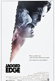 Jagged Edge (1985) Poster - Movie Forum, Cast, Reviews