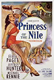 Princess of the Nile (1954) Poster - Movie Forum, Cast, Reviews