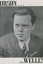 Orson Welles and People Poster
