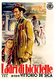 Bicycle Thieves (1948) Poster - Movie Forum, Cast, Reviews