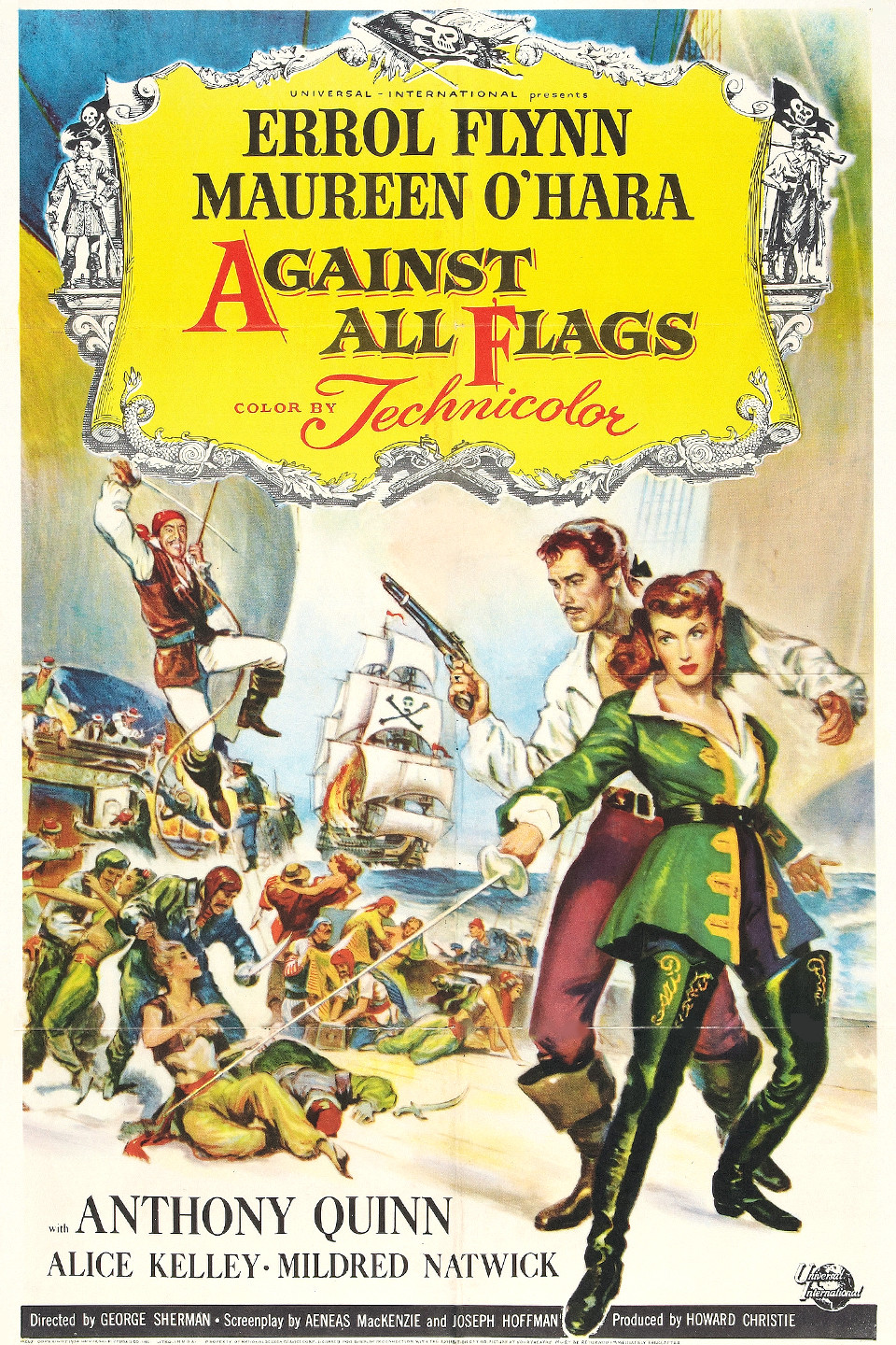 image Against All Flags Watch Full Movie Free Online