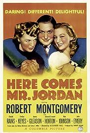Here Comes Mr. Jordan(1941) Poster - Movie Forum, Cast, Reviews