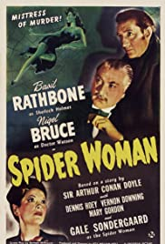 The Spider Woman (1943) Poster - Movie Forum, Cast, Reviews