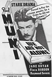 We Are Not Alone (1939) Poster - Movie Forum, Cast, Reviews